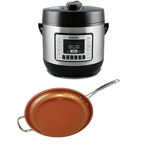 NuWave Electric Pressure Cooker As Seen On TV w/ 12