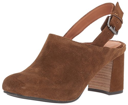 Gentle Souls by Kenneth Cole Women's TAMI SLINGBACK SHOOTIE Boot, Walnut, 9 M - Back Walnut