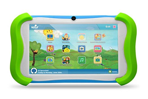 Ematic Sprout Channel CUBBY Tablet
