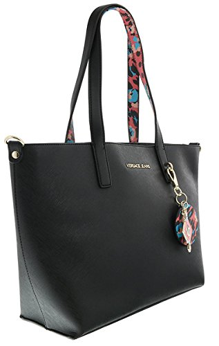Used, Versace EE1VRBBSA Black Shopper/Tote for Womens for sale  Delivered anywhere in USA