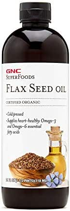 Natural Brand Certified Organic Flax Seed Oil - 24 oz