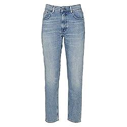 Acne Studios Women S A00007lhb Light Blue Cotton Jeans