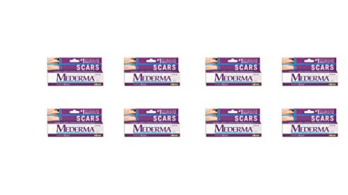 Pack of 8 - Mederma Gel Skin Care for Scars 10g