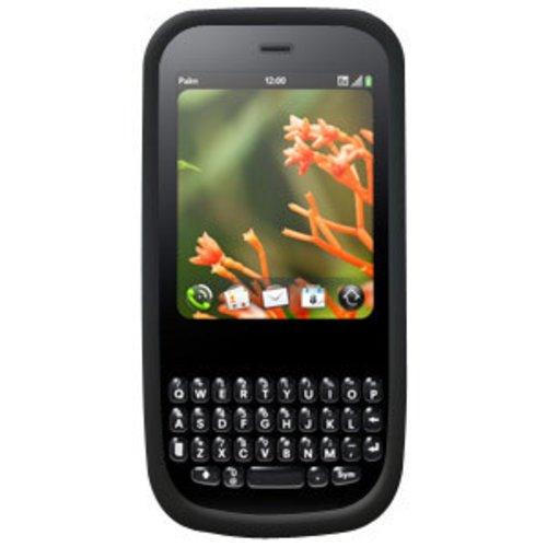 Skin Treo Black (Amzer Silicone Skin Jelly Case for Palm Pixi - Black)