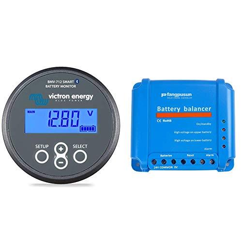 Victron Energy BMV-712 Battery Monitor with Battery Balancer Bundle