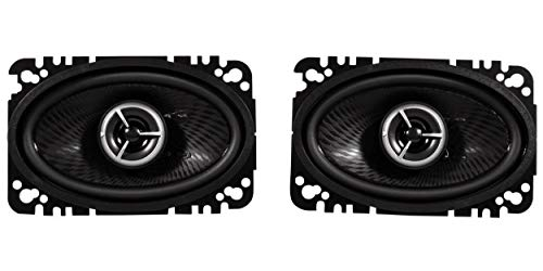"Kenwood Excelon KFC-X463C 4"" x 6"" 2 Way Pair Of Car Audio Speakers Totalling 200 Watts Peak / 60 Watts RMS"