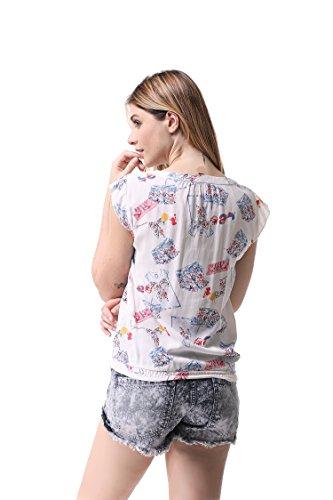 Chiffon 4 Blouses G Tops Femme Shirts T Casual sans Manche 04 Pau1Hami1ton 4RxwEqPR