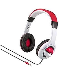 Pokemon Children Adjustable On-Ear Headphones with Kid Friendly Sound Levels