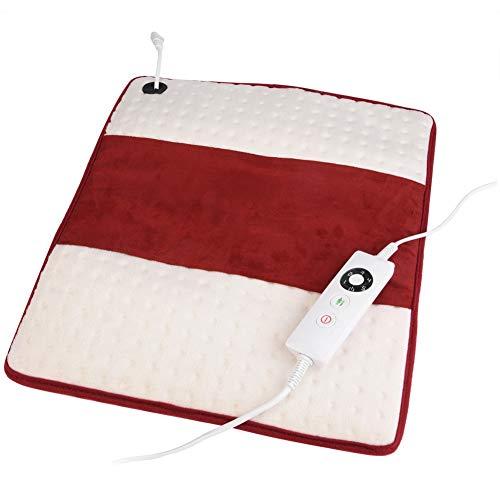 (Electric Heating Cushion, Portable Heated Blanket Mat Handy Heater Chair Cushion Pad Soft Warm Pad, Ultra Comfortable Back Cushion, Chair Pad for Home Office Car use(US) )