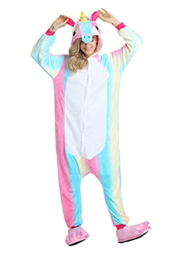 Kigurumi Costume Adulte 2 Pyjama Cosplay Tenue Rainbow Anime Halloween wNPXZn0O8k