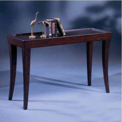 Bernards Furniture Cherry (Versaille Sofa Table in Merlot Finish)