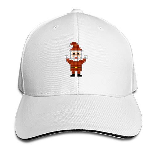 Customized Unisex Trucker Baseball Cap Adjustable Santa Clause Christmas Peaked Sandwich Hat