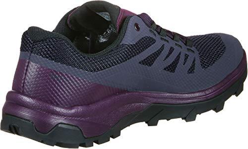 Womens violet Salomon Outline Blanc Craie Foncã Gtx Foncã violet zZqdZax0