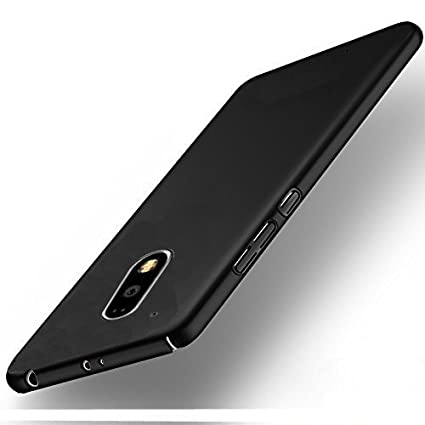 separation shoes 0ad82 28aca Johra 4 Cut All Sides Protection Sleek Ipaky Black Hard Case Back Cover for  Moto G4 Plus Back Cover
