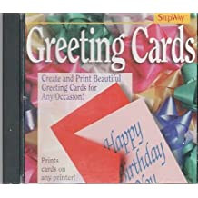 STEPWAY GREETING CARDS SOFTWARE