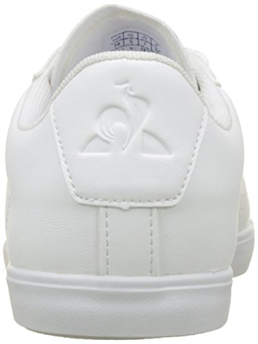 Baskets Le Agate Femme White Coq Optical Metallic Sportif UfS1p