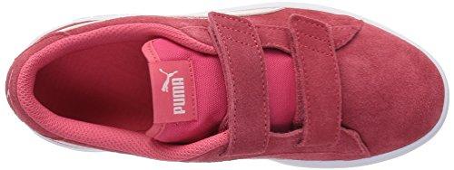 PUMA Baby Smash v2 SD Velcro Kids Sneaker, Paradise Pink-Pearl, 5 M US Toddler