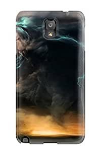 Galaxy Note 3 Hard Case With Awesome Look - LooMOuB1271TKSEf