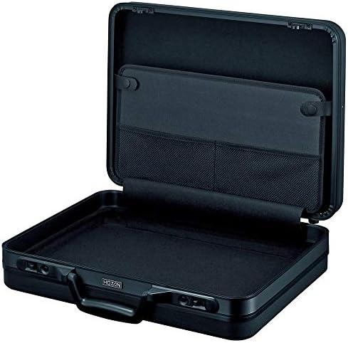 ホーザン(HOZAN) アタッシュケース   外形寸法410(W)×300(H)×100(D)mm 重量1.3kg 材質ABS B-693