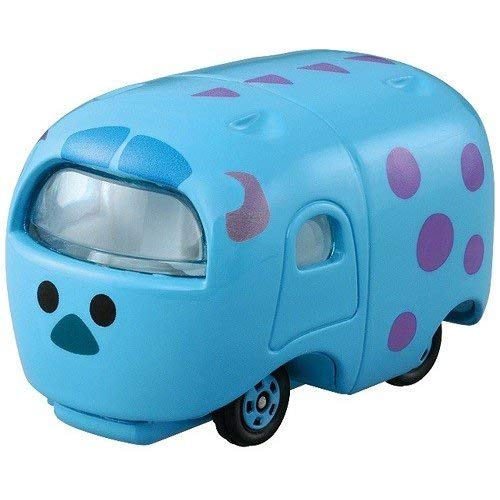 TAKARA TOMY TOMICA Disney Tsum Tsum DMT Normal Monsters University Sally James P Sullivan Diecast Mini Car Figure Blue -