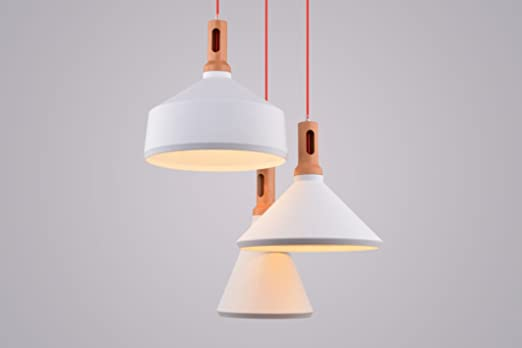 Hängeleuchte Design cagusto pendelleuchte lindby ii 3 teilig 3er weiß metall holz optik