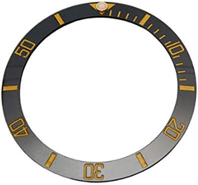 [Richie strap] 腕時計ベルト 腕時計バンド 替えストラップ 社外品 サブマリーナ ベゼルディスク用 適用: ROLEX ロレックス GMT Master SEA SUB SUT 1661816808 (SUB ゴールド40mm)