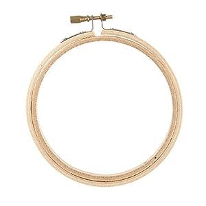 Amazon darice wood embroidery hoop 4 inch darice wood embroidery hoop 4 inch ccuart Choice Image