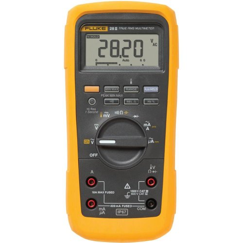 Fluke 28 II True-RMS Rugged IP 67 Industrial Digital Multimeter by Fluke