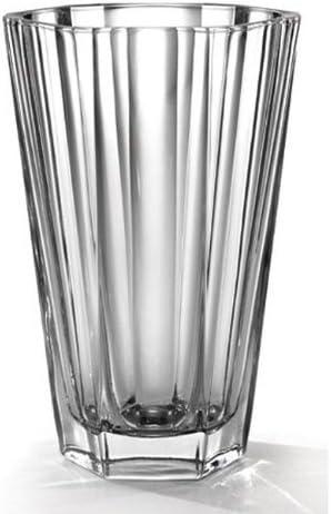 Fifth Avenue Chloe Crystal 9-1/2-Inch Vase