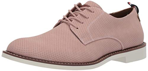 (Tommy Hilfiger Men's Garson6 Oxford Light Pink Perforated 11.5 Medium US)