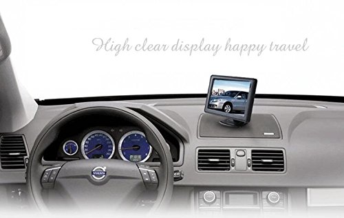 4.3'' High Resolution Car Color TFT LCD Camera Monitor 2 Video Input New Screen by Movka (Image #5)