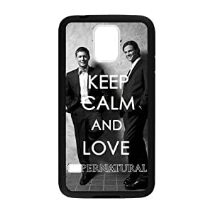 Love Sammy and Dean Supernatural Hunters Cover Case for Samsung Galaxy S5 (Laser Technology)