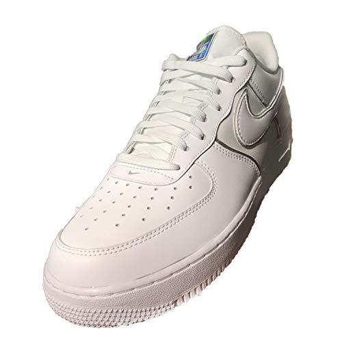 De Zapatillas '07 Nike 4 Air Hombre white Lv8 Blanco 100 Baloncesto Para 1 Force FxRRwfq0Z