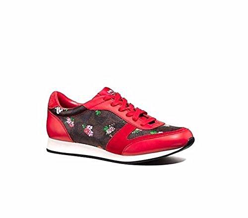Coach Dames Rebecca Ii Sneaker Mahonie / Roze