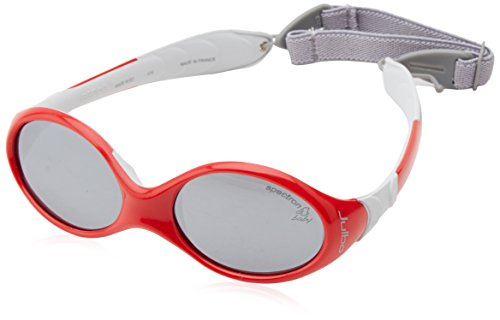Julbo Looping I Baby Sunglasses, Red/Grey, Spectron 4 Baby Lens, 0-18-Months