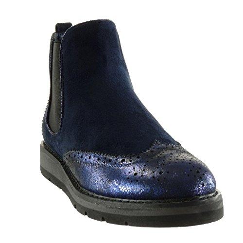 Bottine Mode Boots Chelsea Angkorly Mati Chaussure BI EB5qf