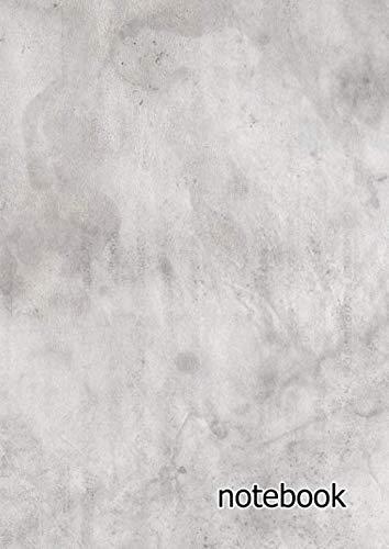 Overlays Grunge - notebook: a4 cute dot grid journal | dirty grunge vintage overlay effect gray silver