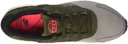 Nike Mænds Air Max Svig Sko, 916768-002 Støv / Sort-cargo Khaki-sol Rød