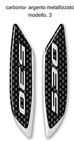 tappi ADESIVI GEL 3D specchietti ERGAL compatibili per SCOOTER YAMAHA TMAX 530