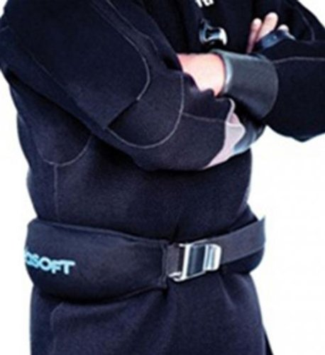 Seasoft Soft Weight Belt - 30 Lbs. for Scuba Divers and Snorkelers by Seasoft