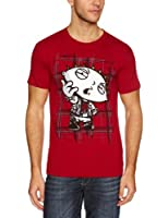 Family Guy Men's Stewie Anarchy T-shirt Red