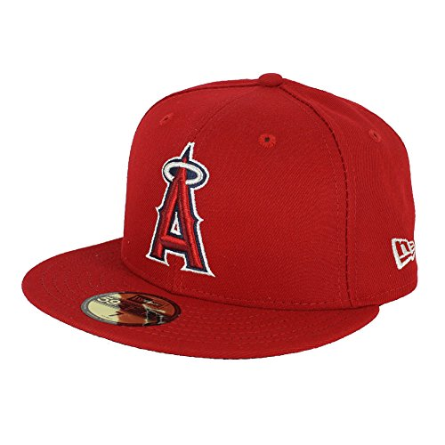 New Era 59FIFTY Los Angeles Angels of Anaheim 2018 Authentic Collection On Field Game Cap 7