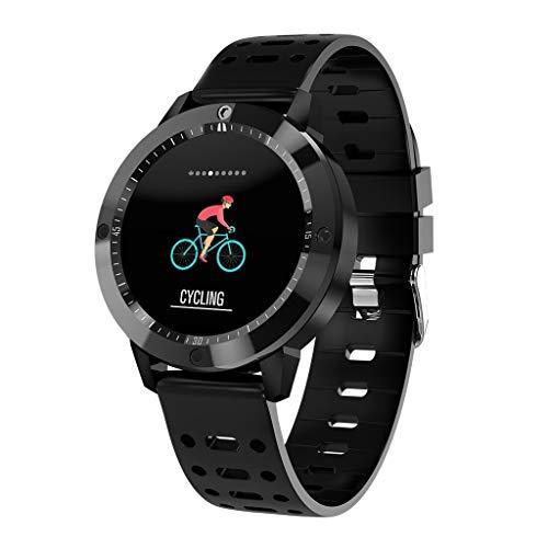 LEERYAAY CF58 Heart Rate/Blood Pressure/Blood Oxygen Monitor Waterproof Smart Watch - Inch Watch 1.33 Phone
