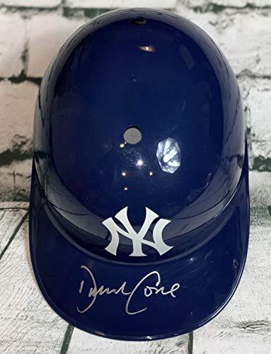 New York Yankees David Cone - David Cone Signed Autographed New York Yankees F/S Batting Helmet - JSA COA