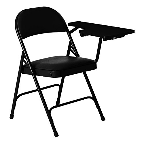 Pleasing Norwood Commercial Furniture 6600 Series Vinyl Padded Metal Folding Chair W Tablet Arm Black Left Handed 2 Pack Pdpeps Interior Chair Design Pdpepsorg