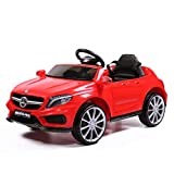 JAXPETY Kids 6V Electric Power RC Ride On Car Mercedes-Benz Remote & MP3 Red
