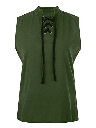 (Appler Men's ROGUE SHIRT Renaissance Clothing, Medieval Clothing, Green Pirate Shirt, Steampunk Costume, Pirate Costume, Viking)