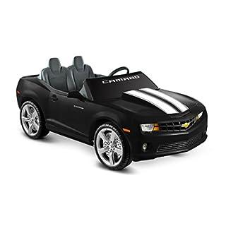 Kid Motorz 12V Two Seater Racing Camaro Ride On, Black