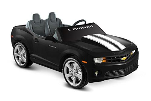 Kid Motorz 12 Volt Two Seater Racing Black Camaro Kids Cars
