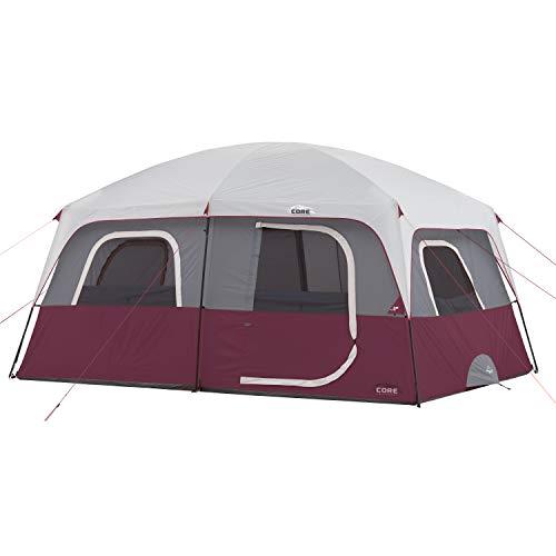 🥇 Core 10 Person Straight Wall Cabin Tent